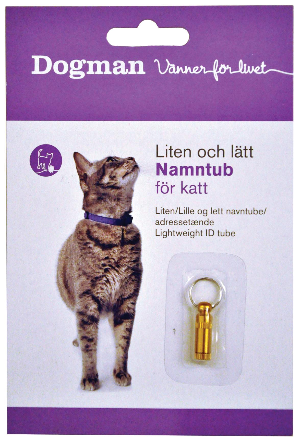 Dogman navnetØnde til kat