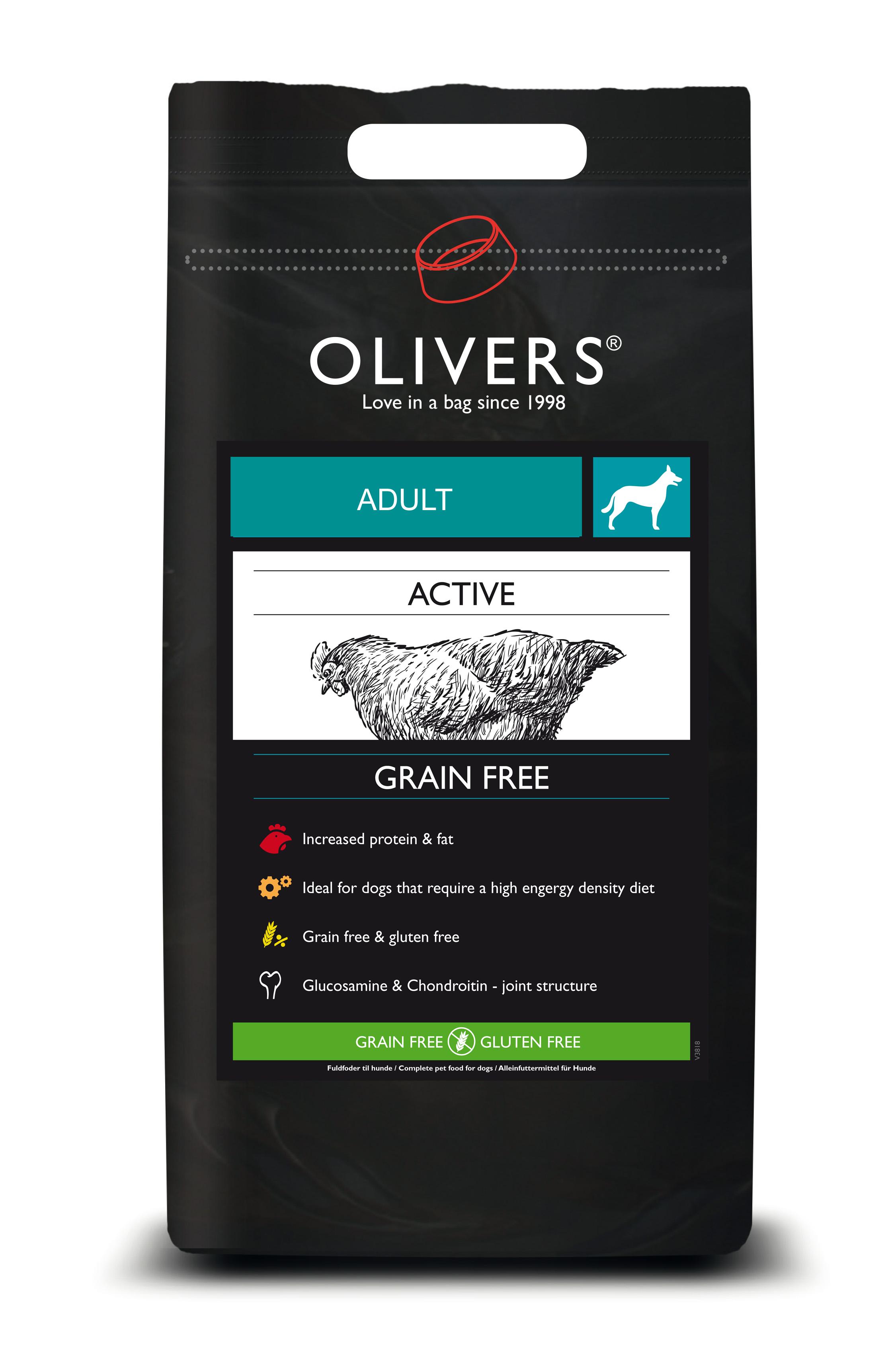 Active grain free adult medium