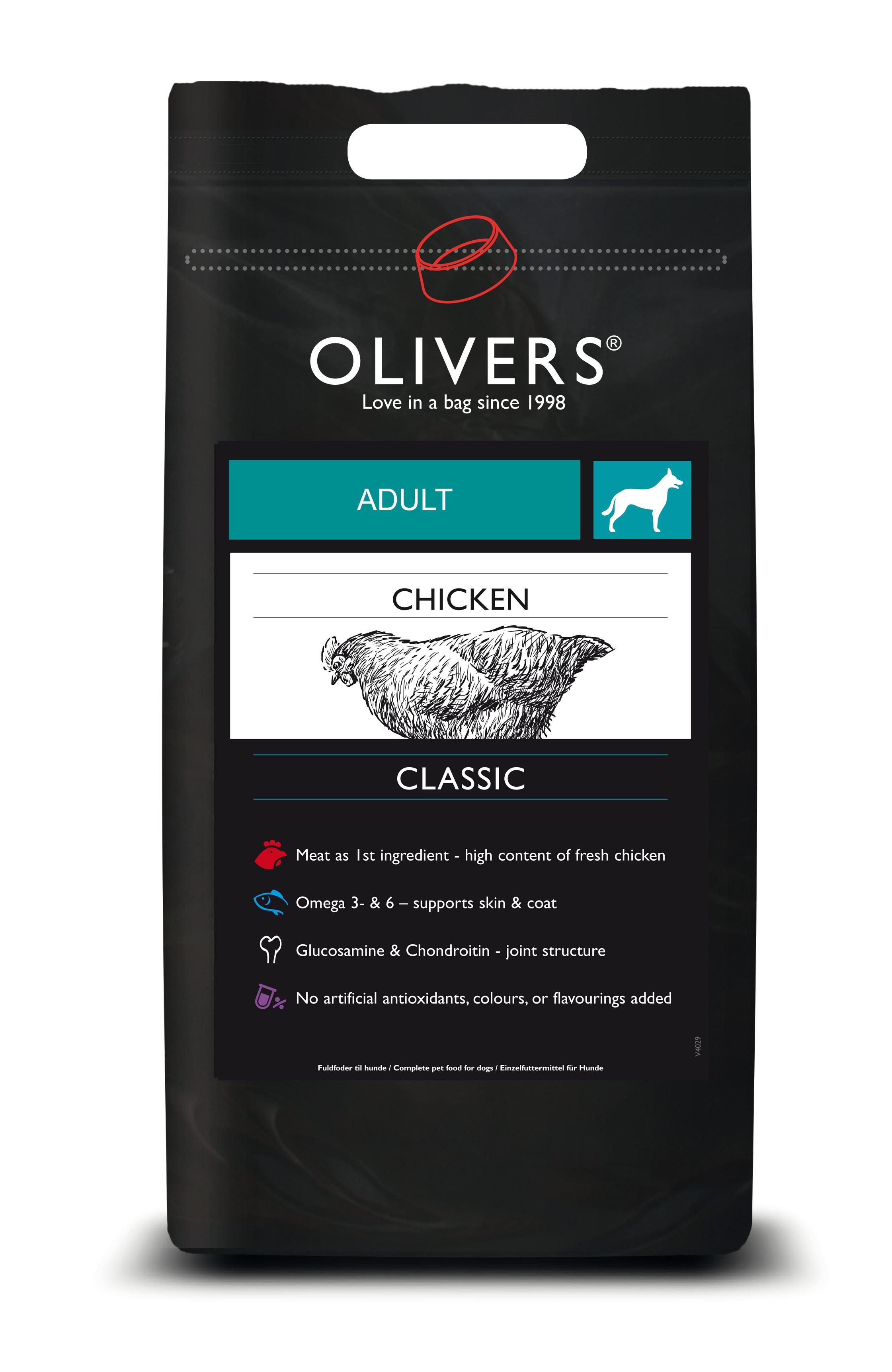 Chicken classic adult - prøvepose