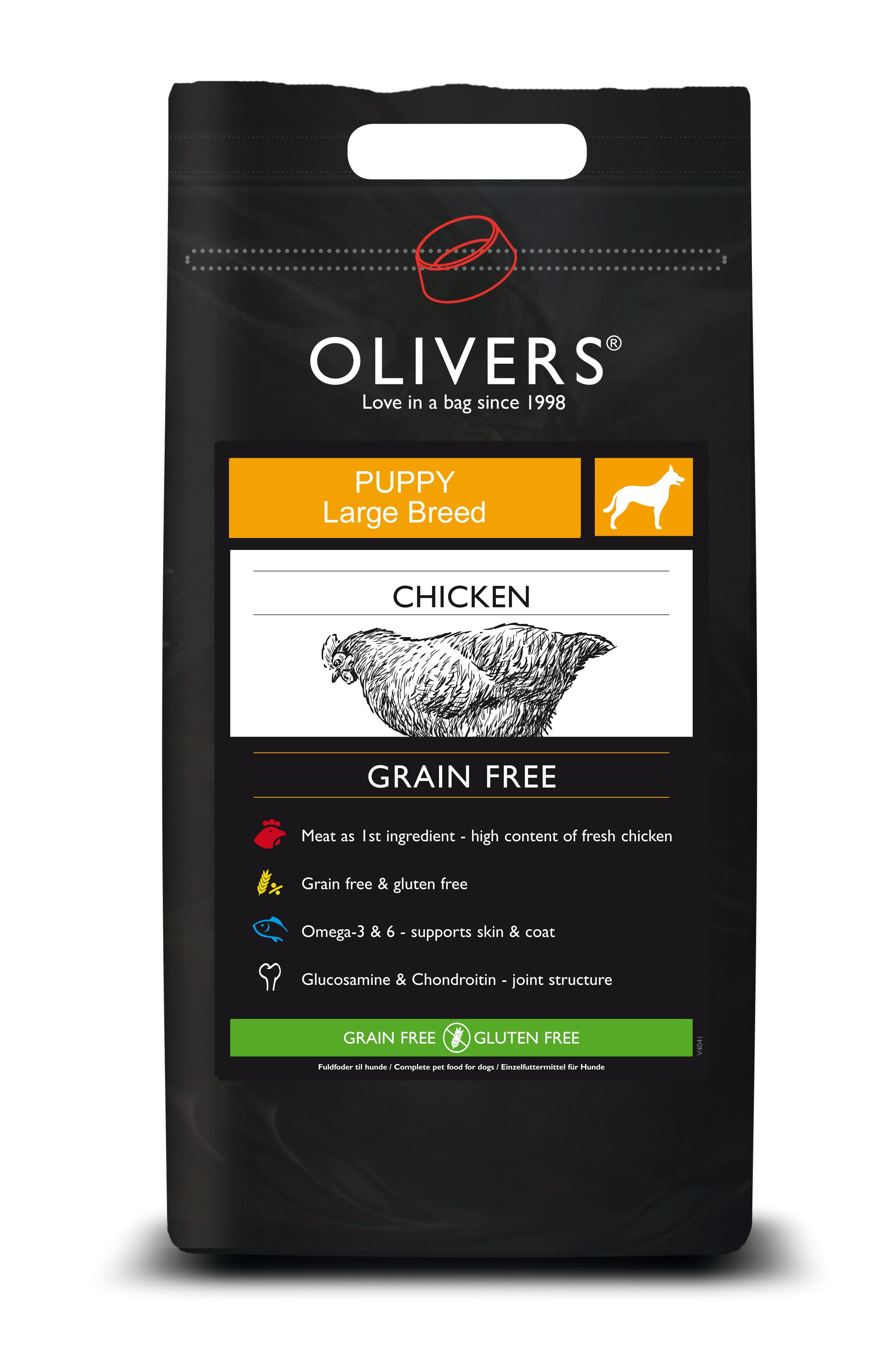 Chicken grain free puppy large breed