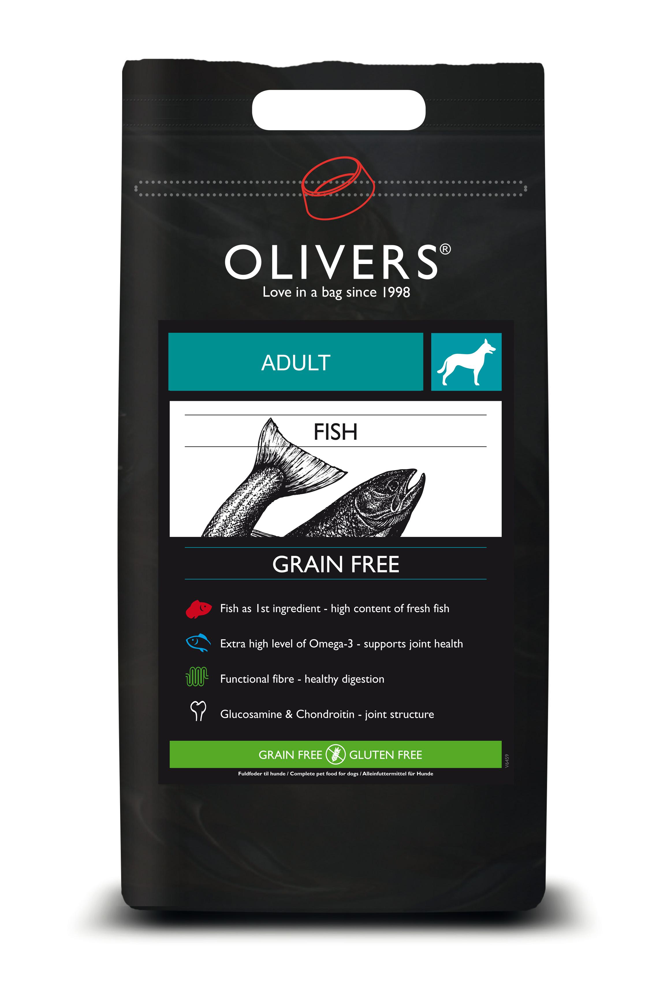 Fish grain free adult