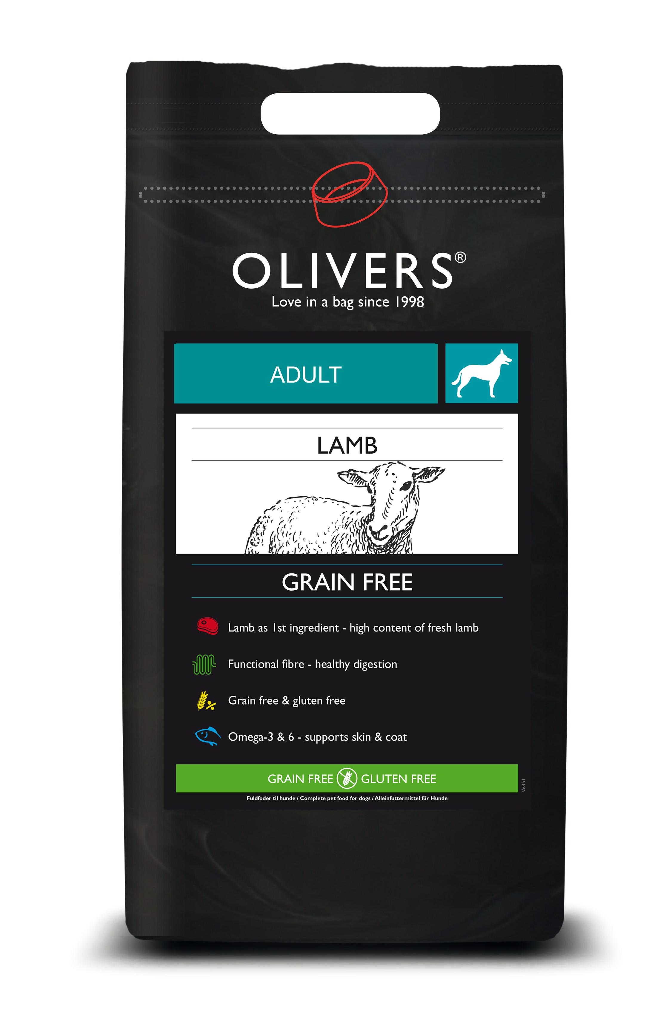 Lamb grain free adult