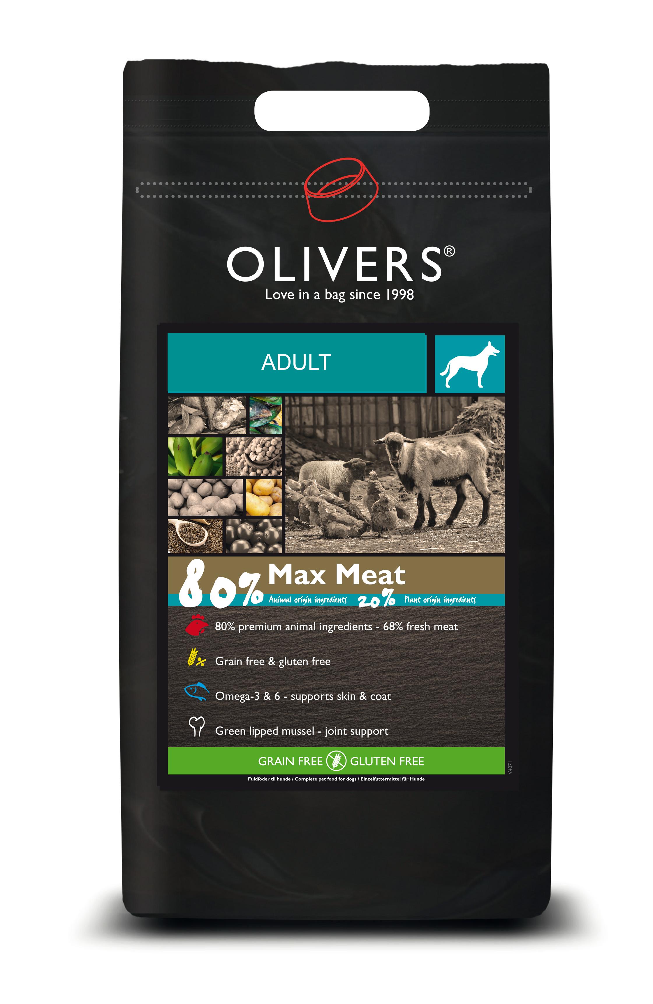 Max meat adult medium testpose