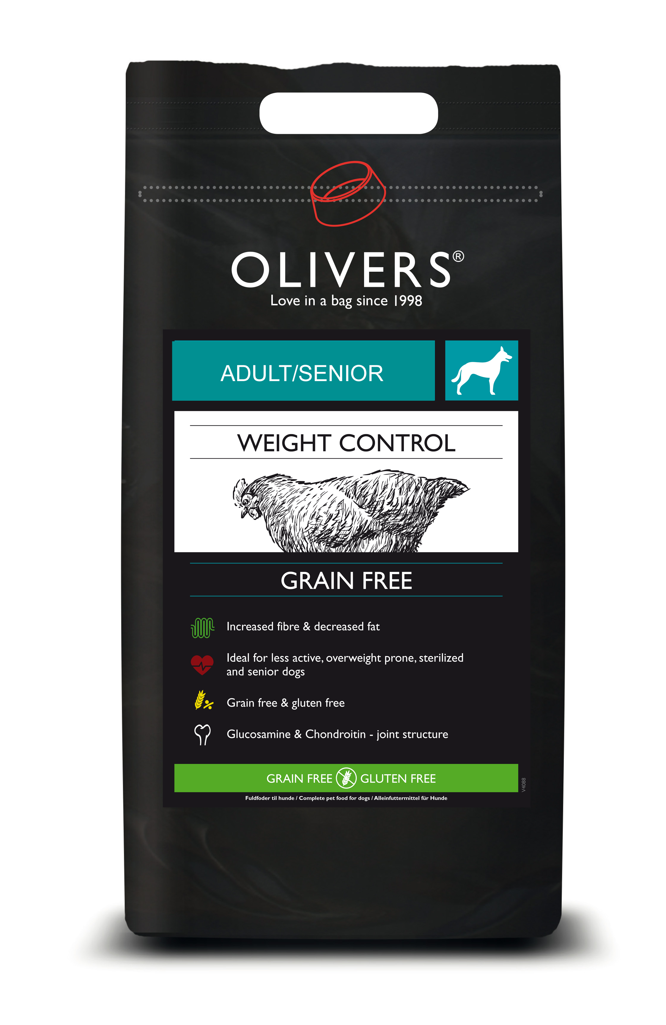 Weight control grain free