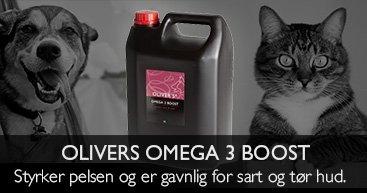 Norsk lakseolie - Til hunde og katte - Giver blank pels