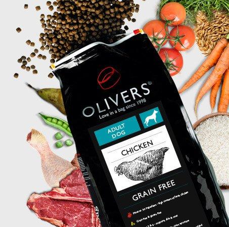 olivers hundefoder tilbud